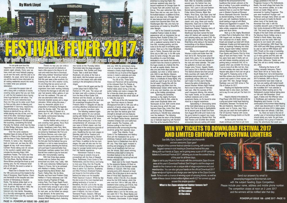 PowerPlay Magazine - Festival Roundup 2017