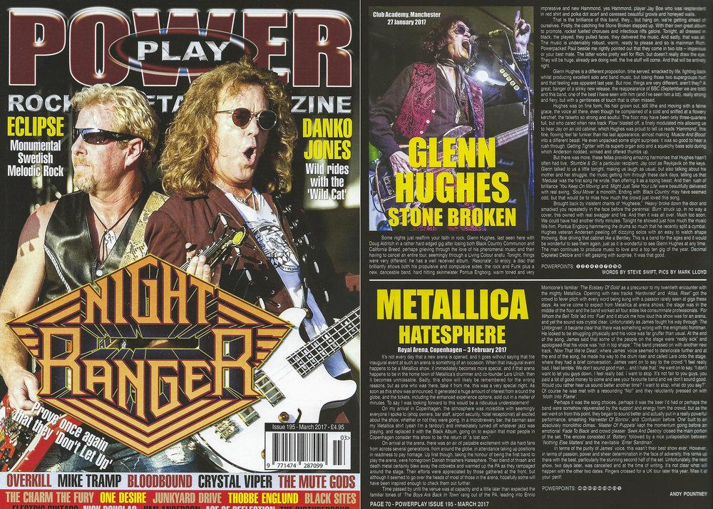 PowerPlay Magazine - Glenn Hughes Photo
