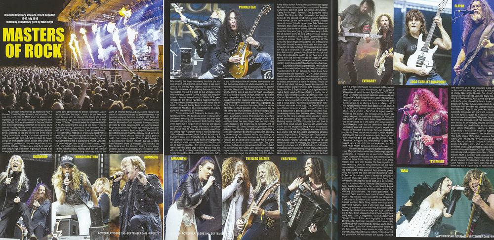 PowerPlay Magazine - Master Of Rock 2016 Photos