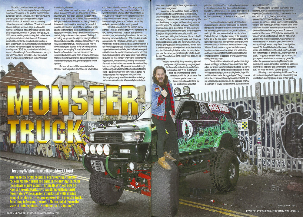 PowerPlay Magazine - Monster Truck Photo and Feature