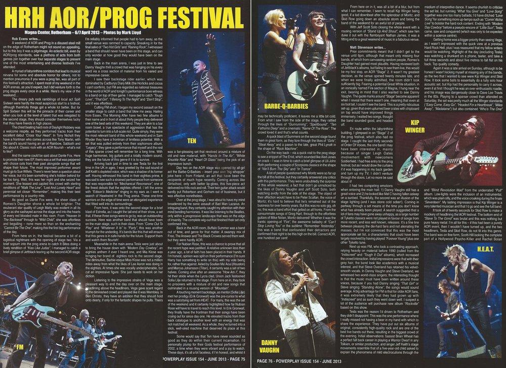 PowerPlay Magazine - HRH Live Photos