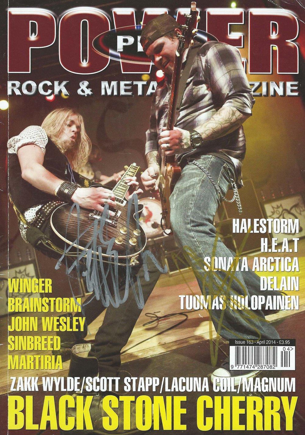 PowerPlay Magazine - Cover Shot