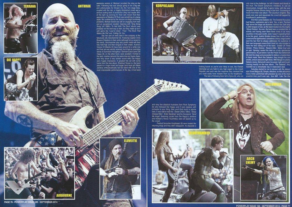 PowerPlay Magazine - Masters of Rock Festival Photos