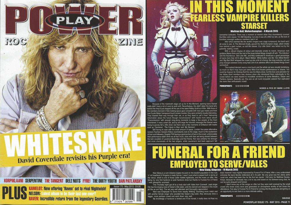 PowerPlay Magazine - In This Moment Review and Photos