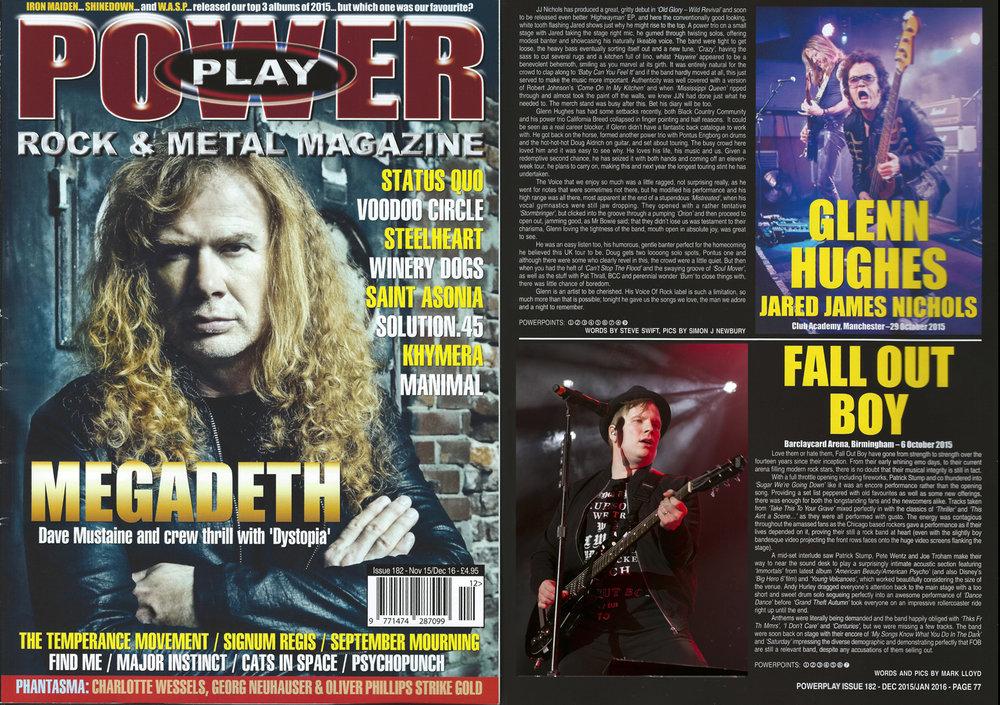 PowerPlay Magazine - Fall out Boy Photoa