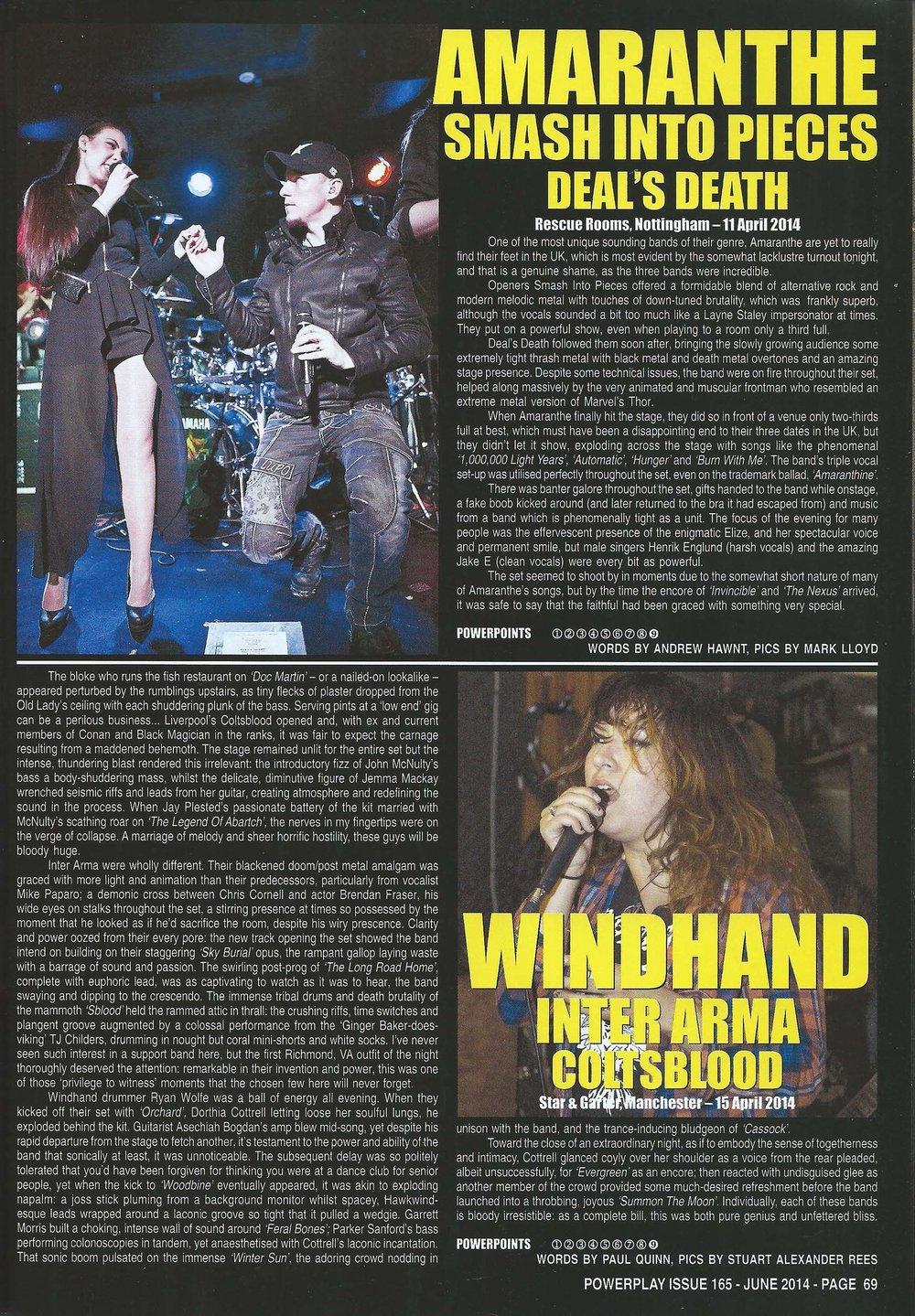 PowerPlay Magazine - Amaranthe Photos