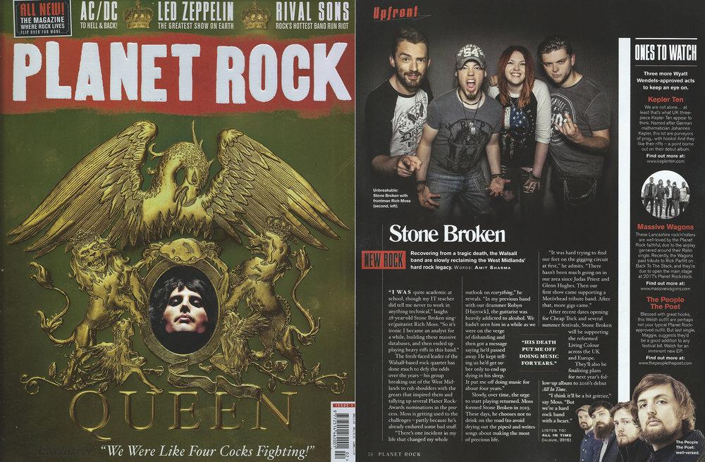 Planet Rock Magazine - Stone Broken Photo