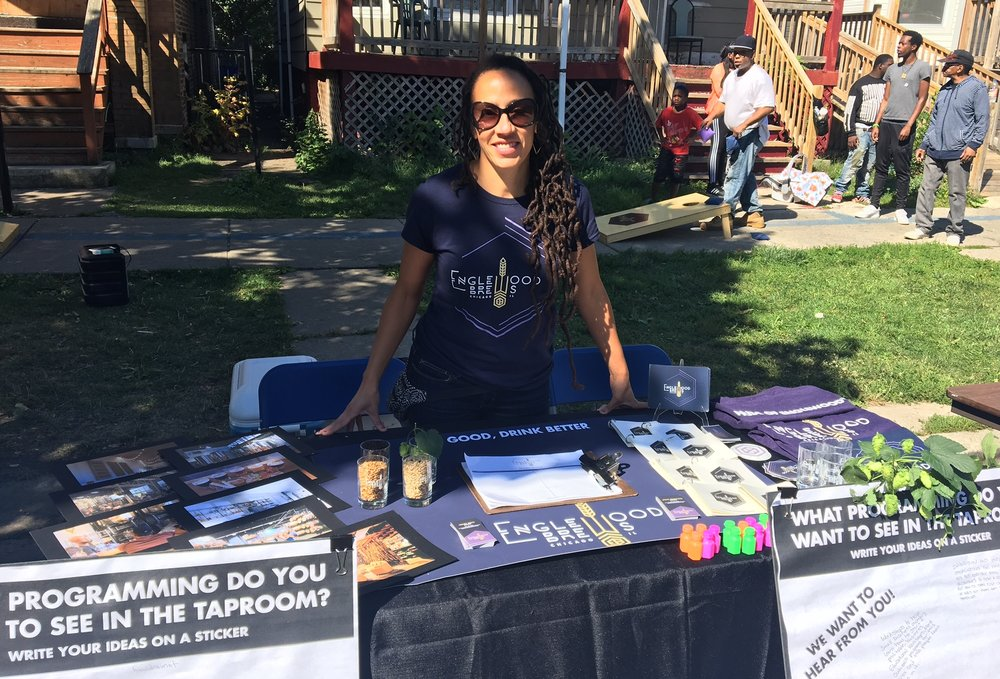 Our Vendor Table at PeaceFest