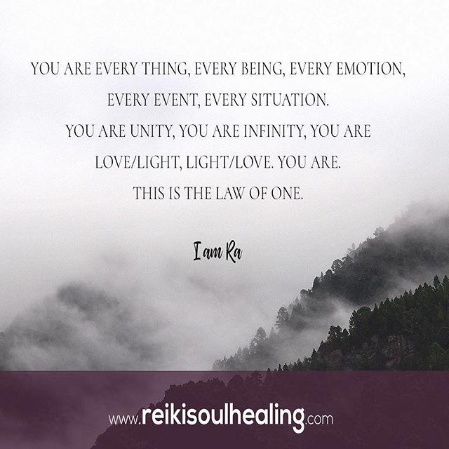 A very simple truth. We are all one. 🙏 #reikimaster #lawofone #ra #mankato #minnesota #thelawofone #youareeverything #consciousness #love #meditation #energyhealing #lifecoaching #spiritualawakening #awakening #4thdimension #theshift #goodvibes #spiritualquotes #vibrationalhealing #energyhealer #namaste🙏