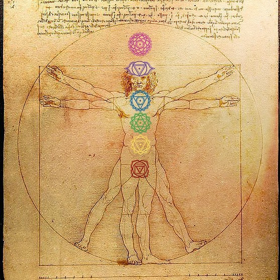 Modern science is now proving what the enlightened sages once knew. We are all energy. We are all one.  Leonardo's Vitruvian Man combined art and science. With a sense of motion it illustrates how we fit into the grand order of the universe. We can see the essence of ourselves. It's the relationship between the microcosm of man and the microcosm of earth, a dance between the human and divine.  #reiki #virtruvianman #chakras #spirituality #leonardodavinci #chakras #mankatomn #ourbodyisatemple #esoteric #holistichealth #soulful #healingenergy #mn #minnesota #awaken #holistichealing #weareallone #meditatedaily #namaste