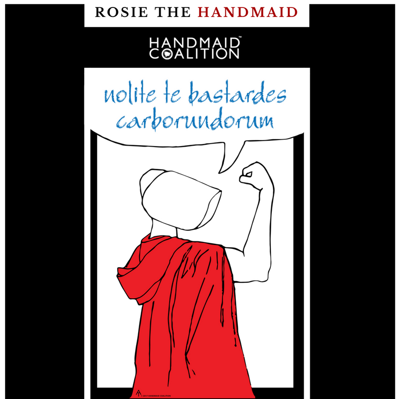 Meet Rosie the Handmaid