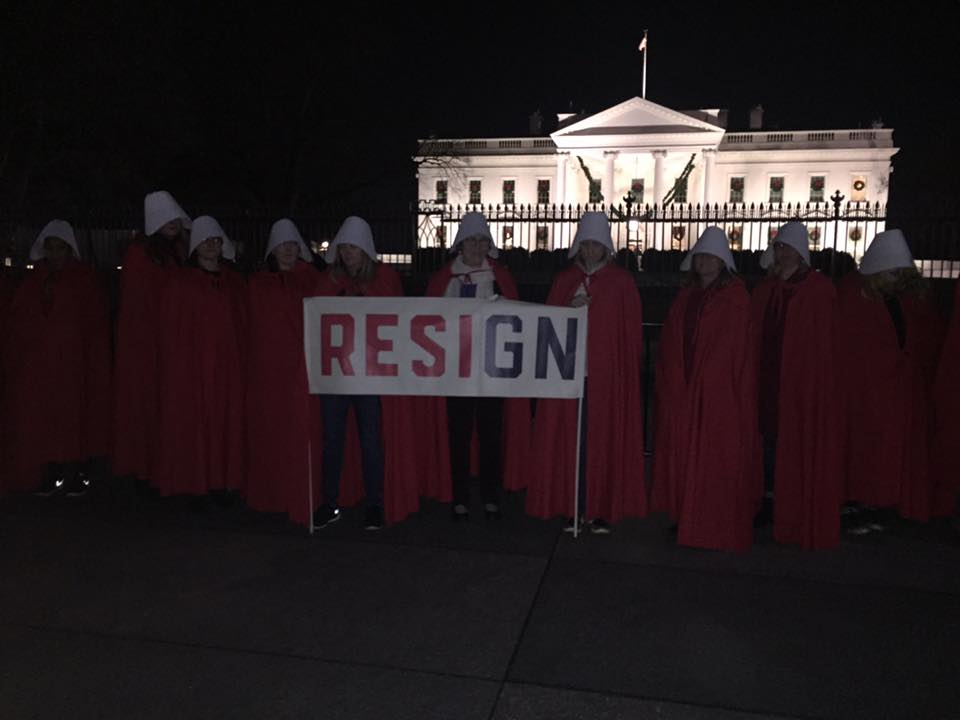 Handmaids @ White House 2017