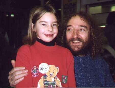 Me with Vin, circa 1997.
