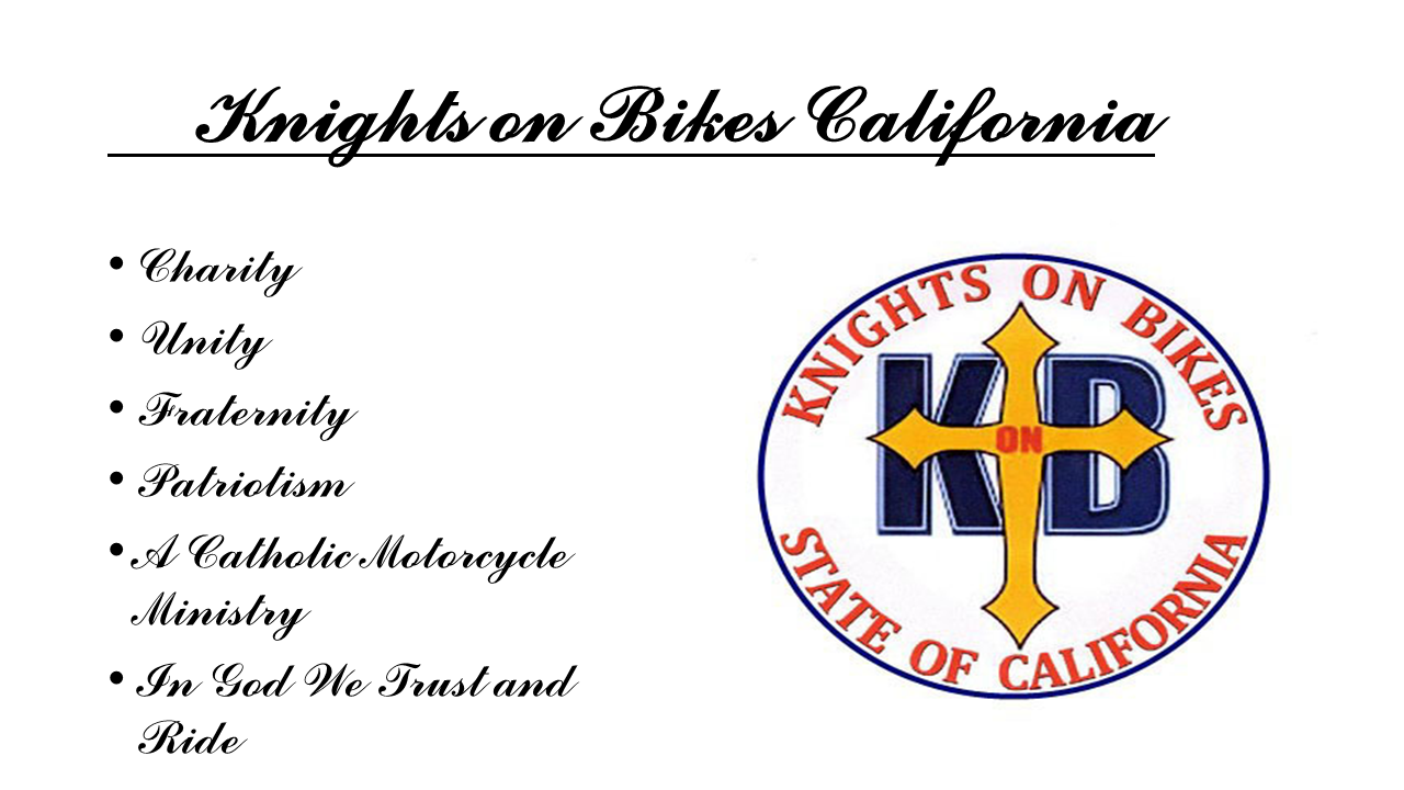 Knights on Bikes California