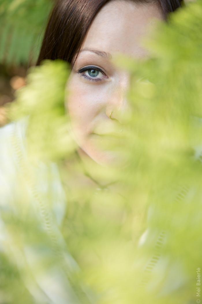 Portrait dans la nature