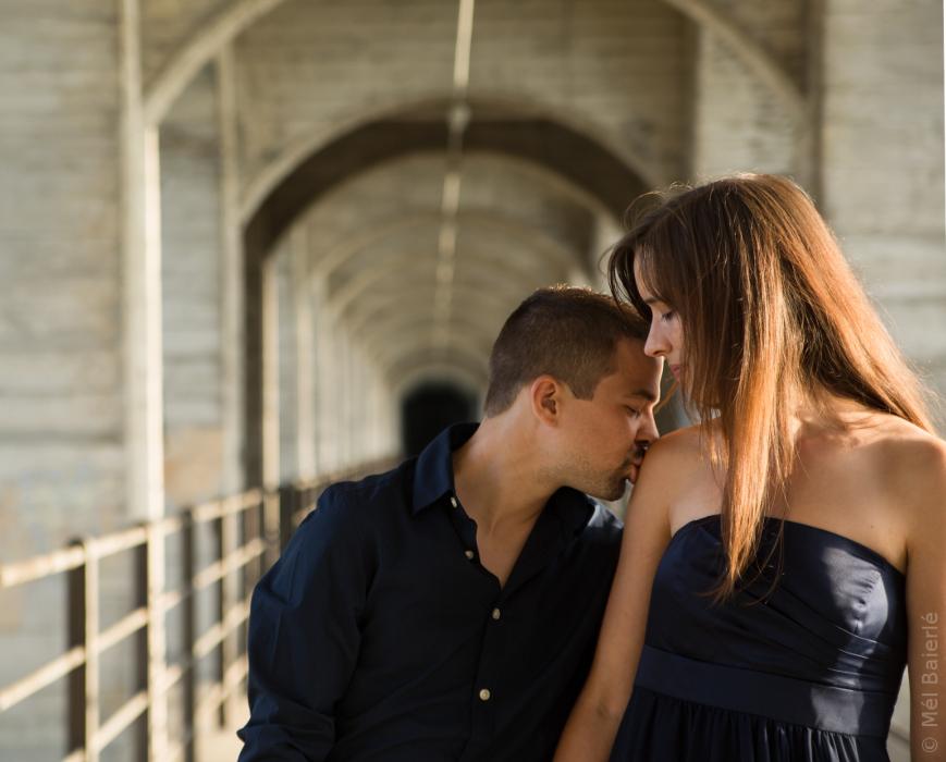 Service photographique en couple