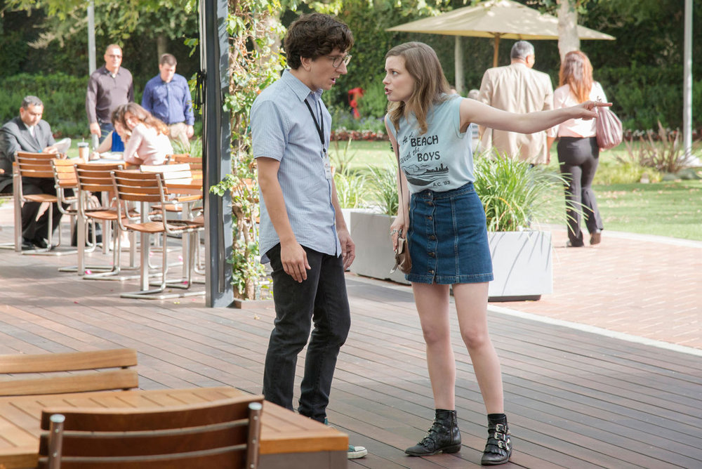 Paul Rust and Gillian Jacobs  Photograph by Suzanne Hanover / Netflix / Everett