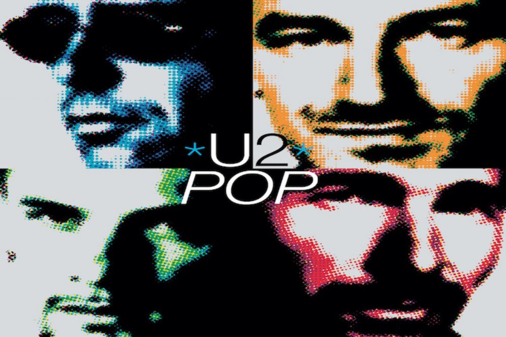 u2  Pop  album cover