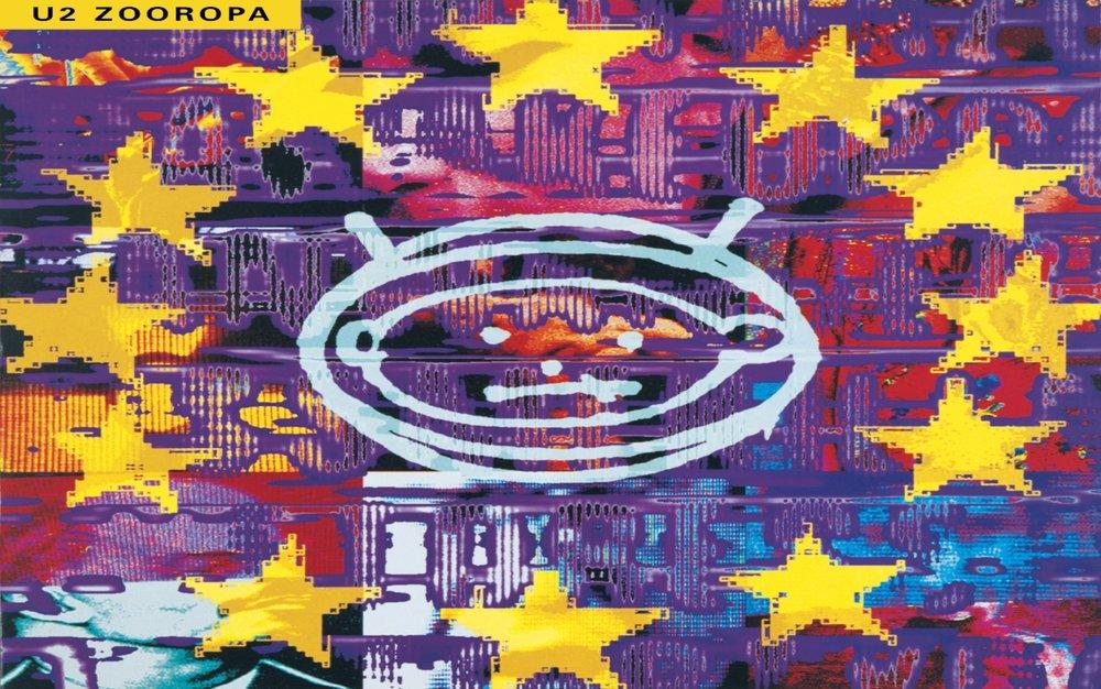 u2  Zooropa  album cover
