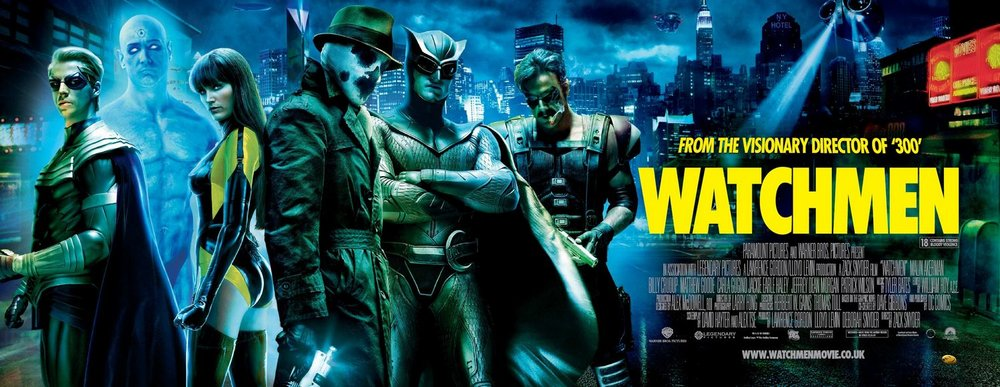 Watchmen  movie poster Warner Bros.