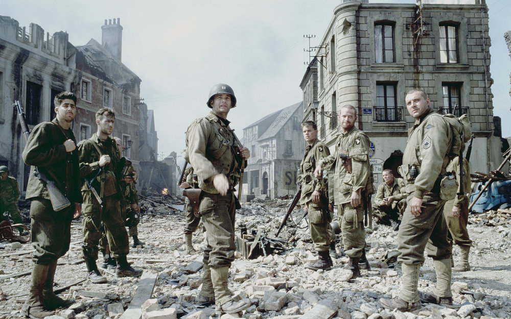 From Saving Private Ryan, Directed by Steven Spielberg