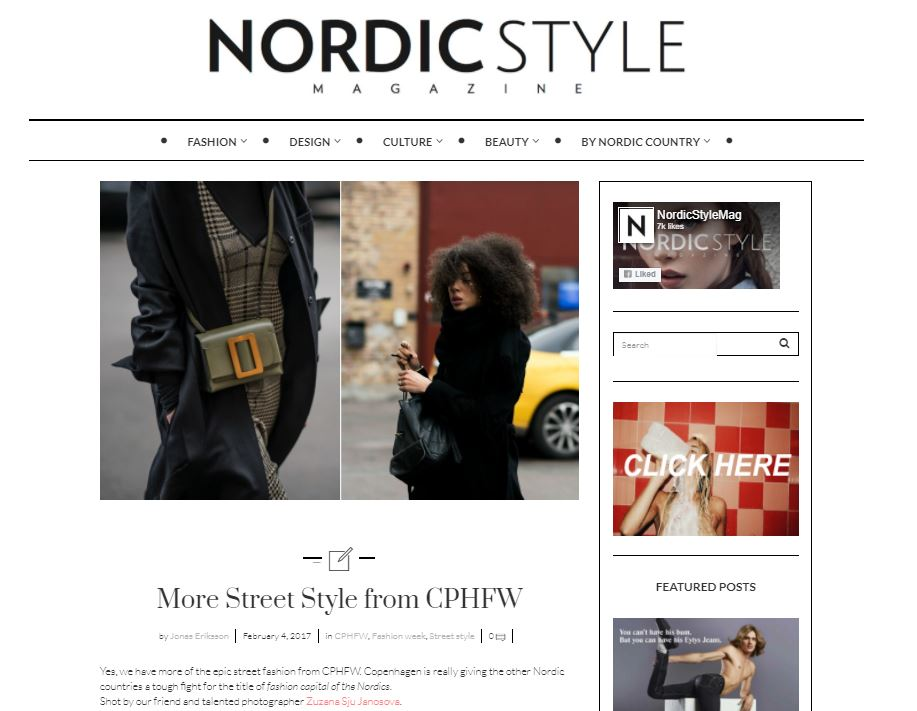 Nordic Style Magazine - CPHFW AW17 Streetstyle