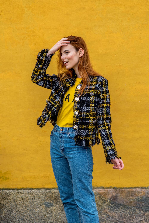 H&M x Erdem jacket // Compania Fantastica T-shirt // H&M jeans
