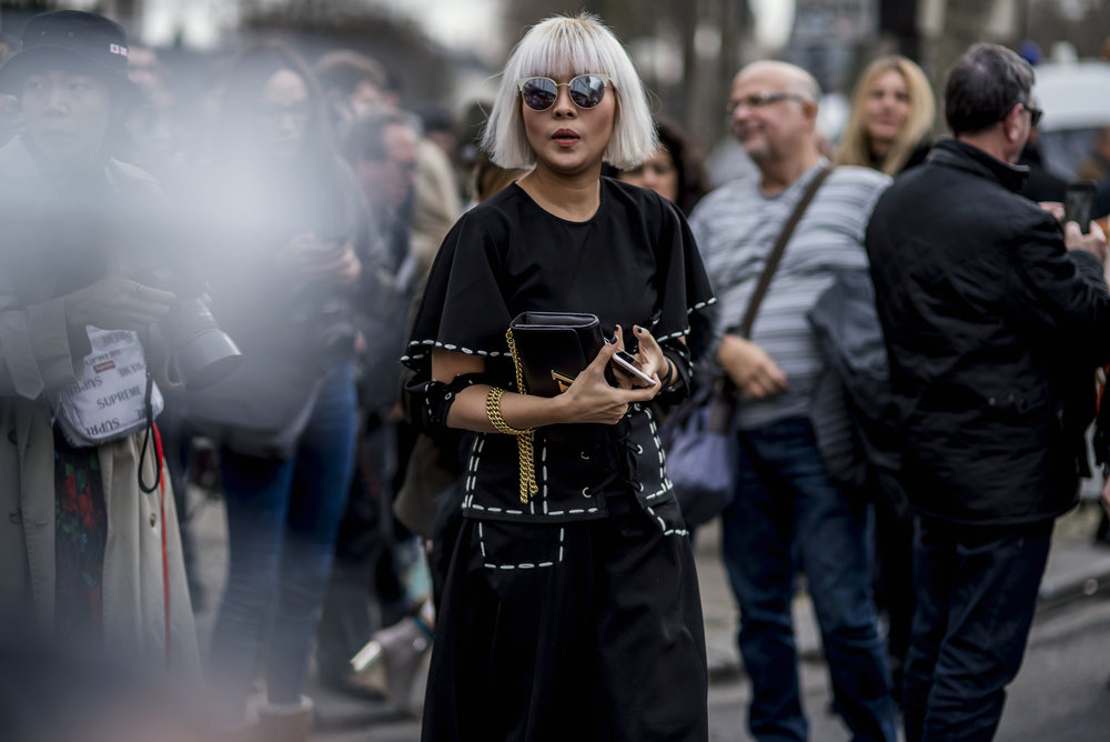 Paris Fashion Week AW18 Streetstyle