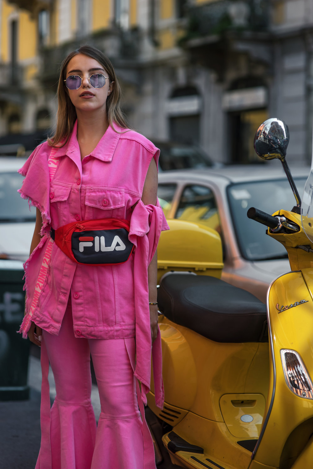 Milan Fashion Week SS18 Streetstyle