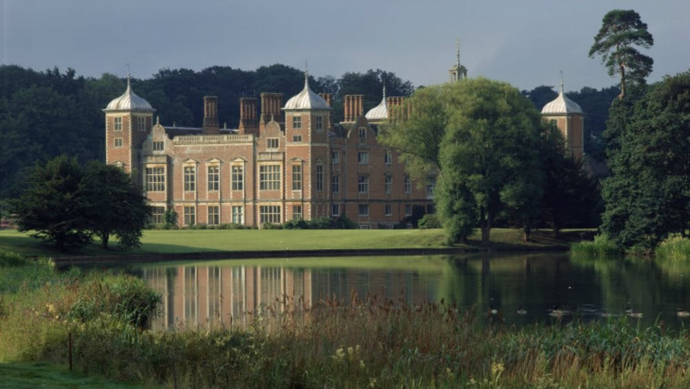 Blickling Hall, Norfolk - where a water-source heat pump has been installed in the lake to replace the existing oil-fired system