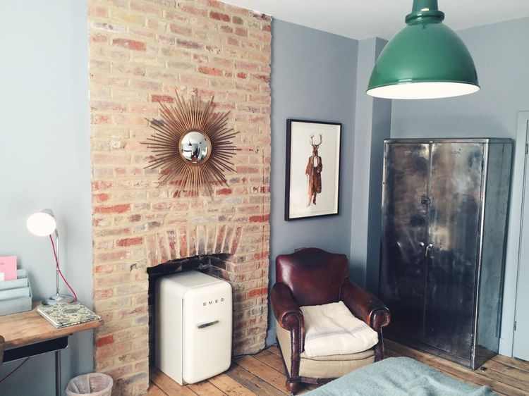 What's your core style -  a perfect example of eclectic interior style here at Artist Residence, London, with some kickass art on the walls too.