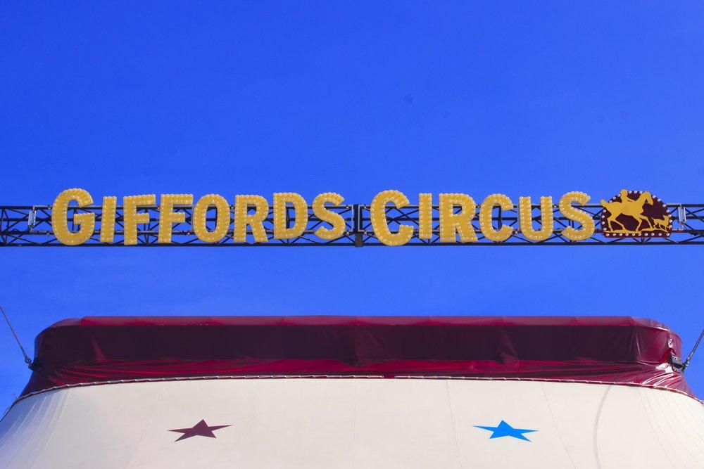 Giffords Big Top. Photo:  Jack Bal l