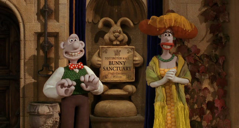 43. Wallace & Gromit in 'The Curse of the Were-Rabbit'