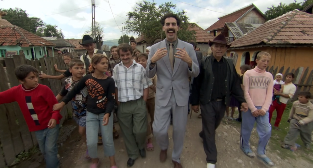 54. Borat: Cultural Learnings of America for Make Benefit Glorious Nation of Kazakhstan