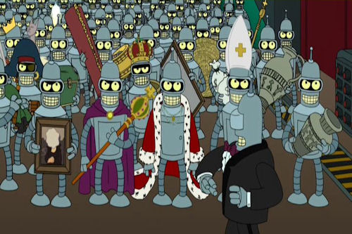 74. Futurama: Bender's Big Score