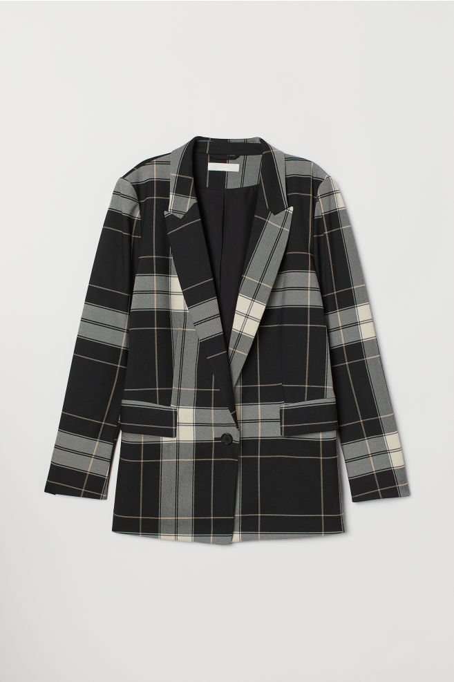Checkered Jacket - H&M