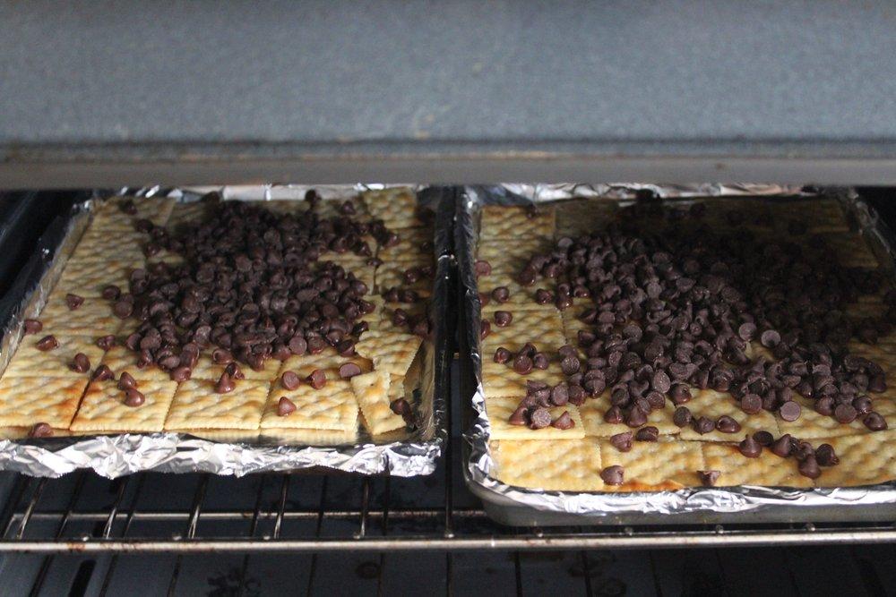 Chocolate melting :)