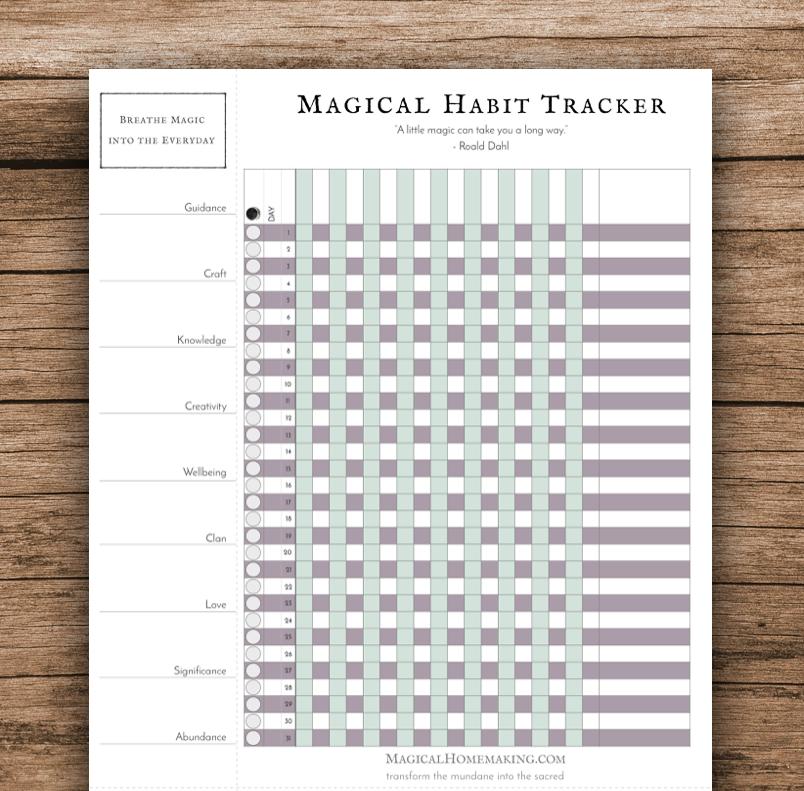 Habit Tracker Blank