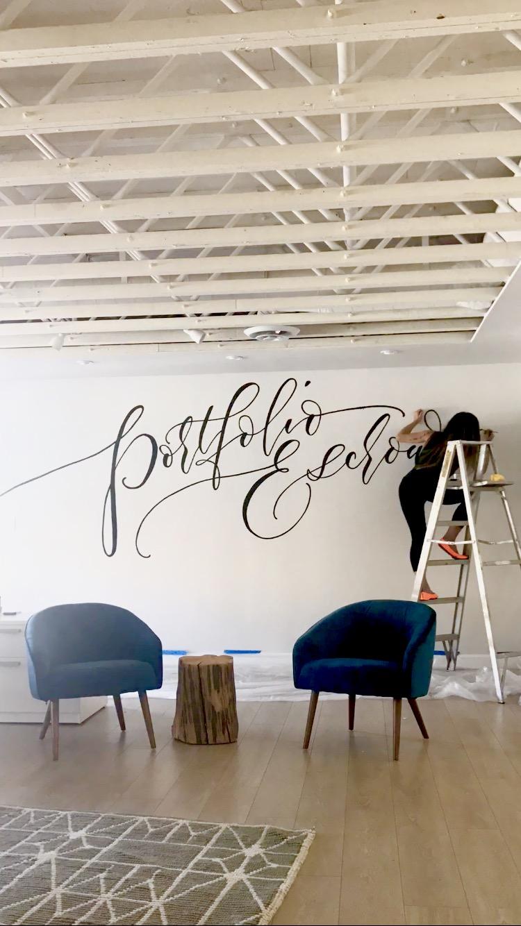 Portfolio Escrow Commercial Wall Art, Manhattan Beach