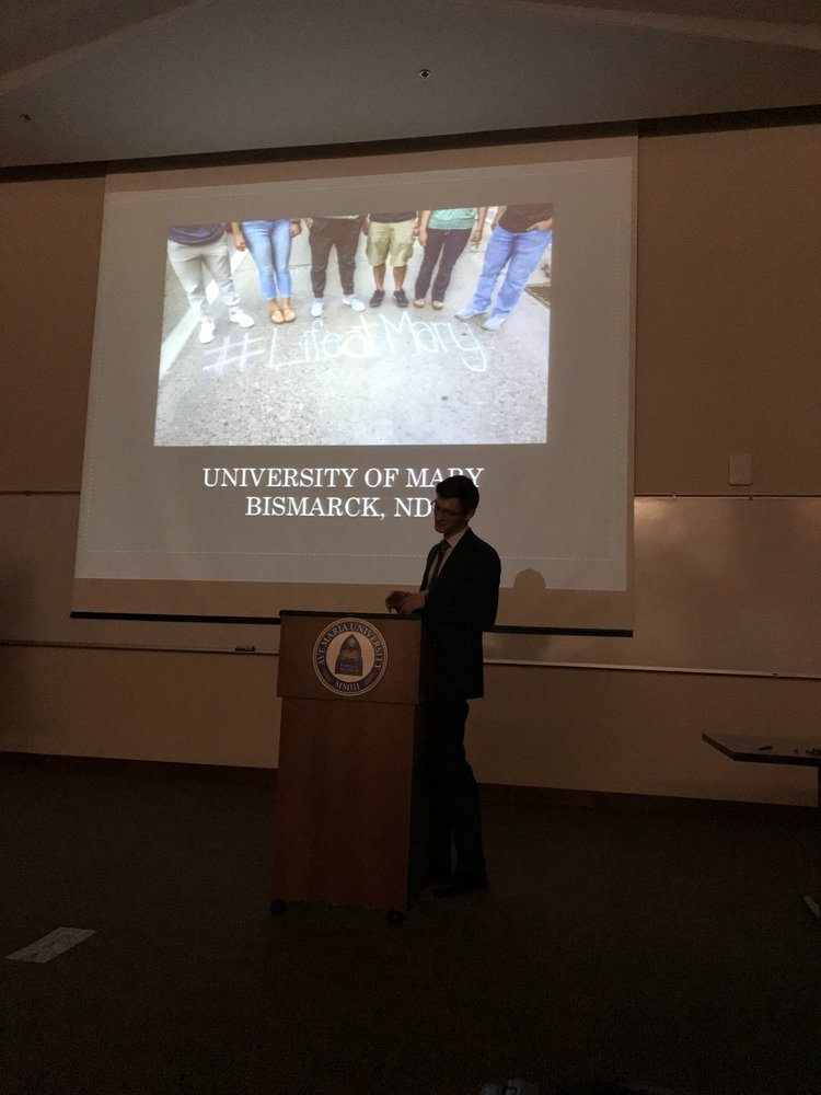 University of Mary Presentation