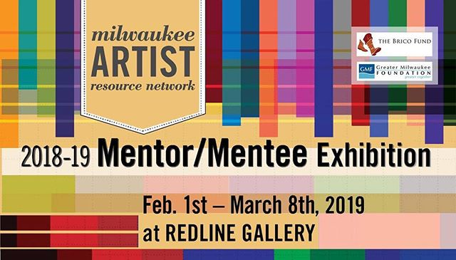 Hey everybody!  I've been a Mentee in the MARN/Mentor Program.  I'm inviting you all to come to our culmination exhibition at @redlinemke  Gallery on Vel Phillips Drive near the Fiserv Forum.  The opening is Fri 2/1 from 5:30-8:00PM!  Great Art!  Great conversations!  Great to see you!