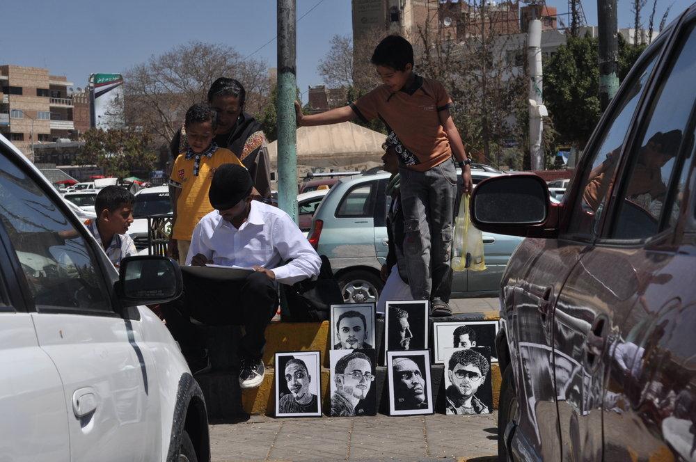 محمد البشق في ميدان التحرير، ٢٠١٦
