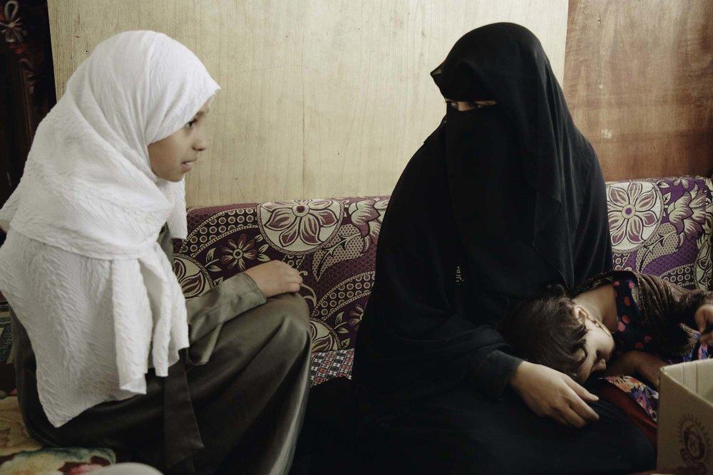 .شيماء ووالدة خلود