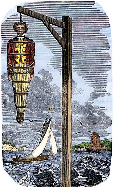 كابتن كيد في ١٧٠١ = الرسام غير معروف