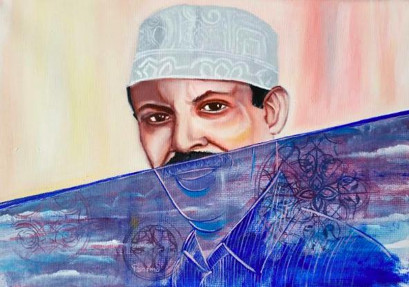 Art work courtesy of Basma Rawi