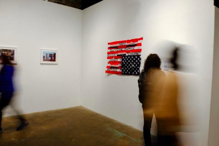 Layali al-Sadah, installation shot,image courtesy of  @beforewewerebanned