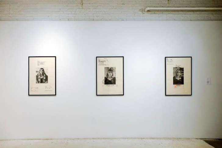 asiya al sharabi, installation shot, image courtesy of  @beforewewerebanned