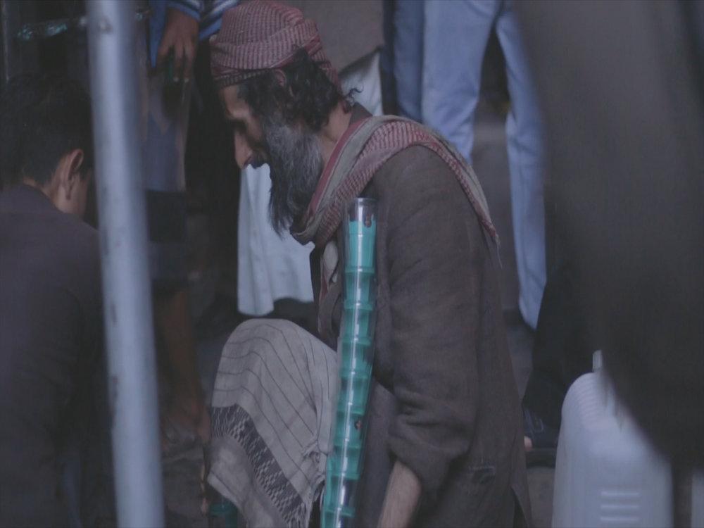 still shot from the video