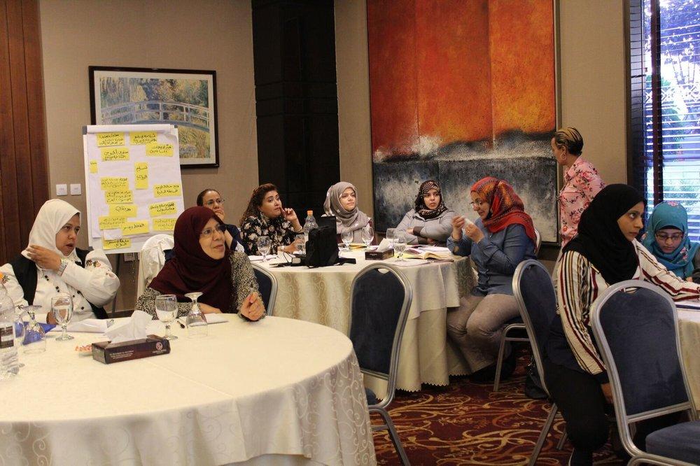 الصورة بإذن من مبادرة التضامن النسوي