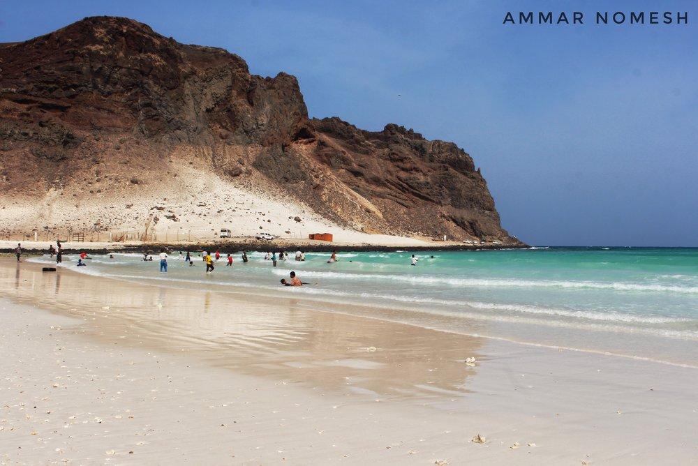Coast park Al-Ghurab Fortress - Ammar Nomesh
